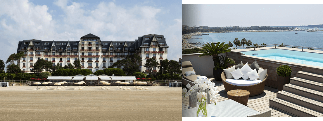 Luxury Hotels - Le Fouquet's, Le Normandy, L'Hermitage and Le Majestic